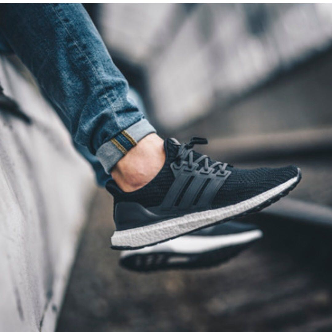 cd4971003411a8 Adidas Ultraboost 4.0  Black