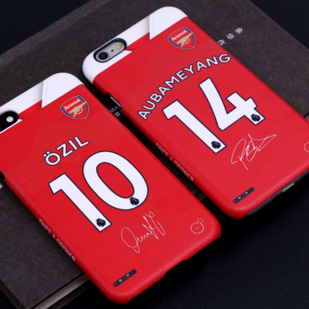 10c2a5a9047 Arsenal 18/19 Jersey Phone Case, Mobile Phones & Tablets, Mobile ...