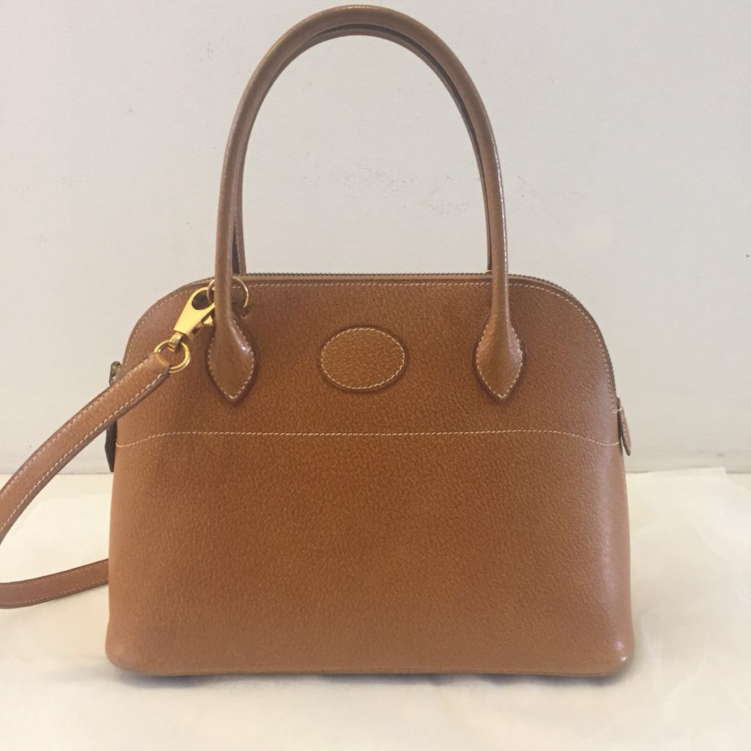 Auth Hermès Bolide 27 in Natural Veau Porc, Luxury, Bags   Wallets,  Handbags on Carousell 3bab8bb446