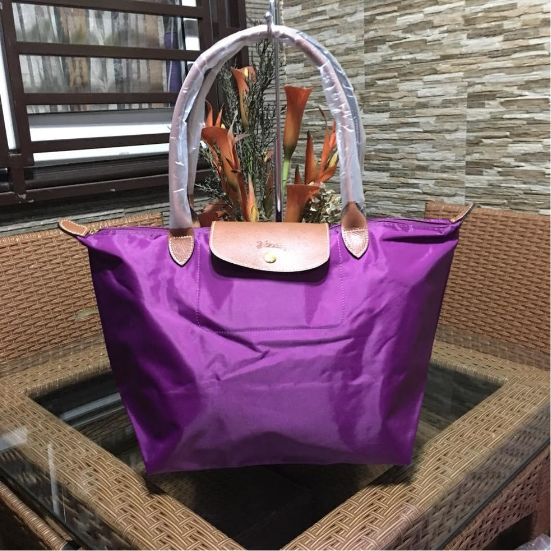 Authentic Original Longchamp LE Pliage Neo Tote Bag Long Handle ... 42a5fc7511ada