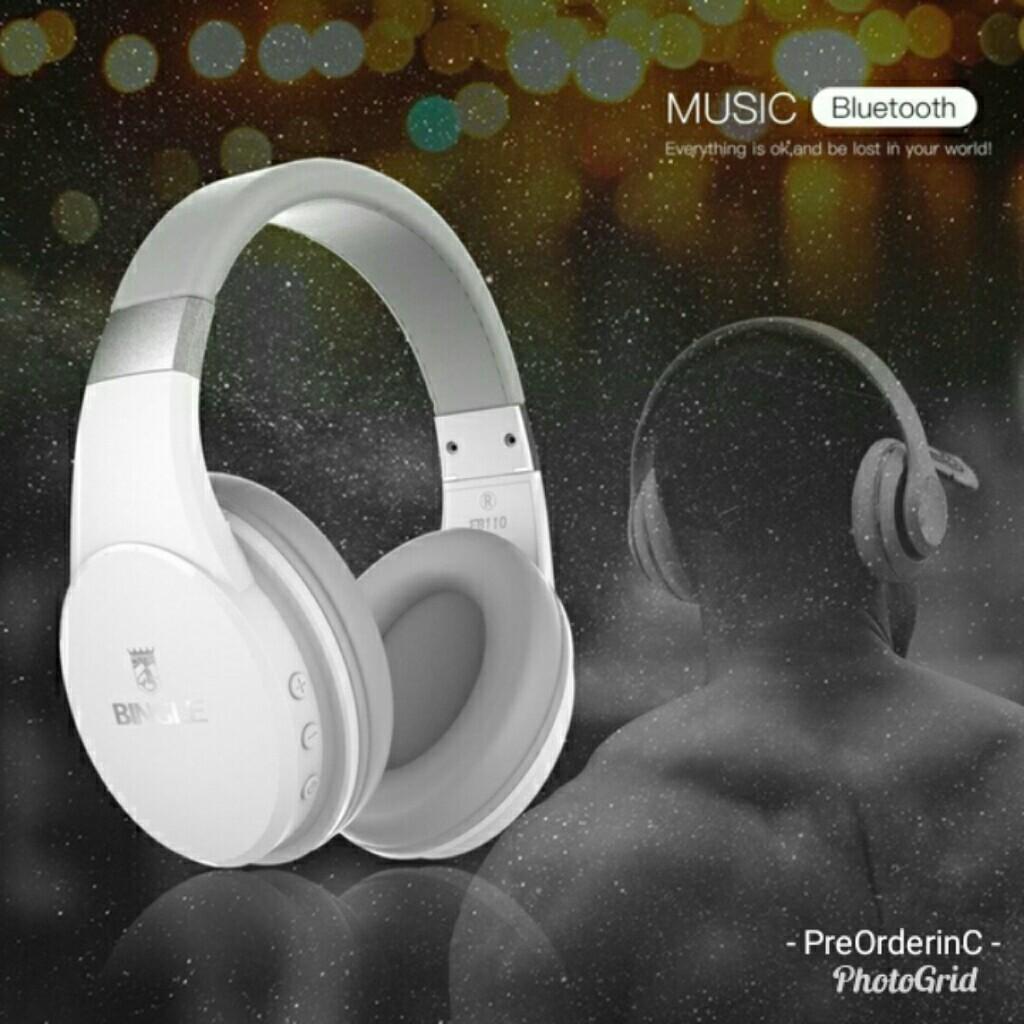 Bingle Fb110 Turbine Wireless Bluetooth Headphones Electronics
