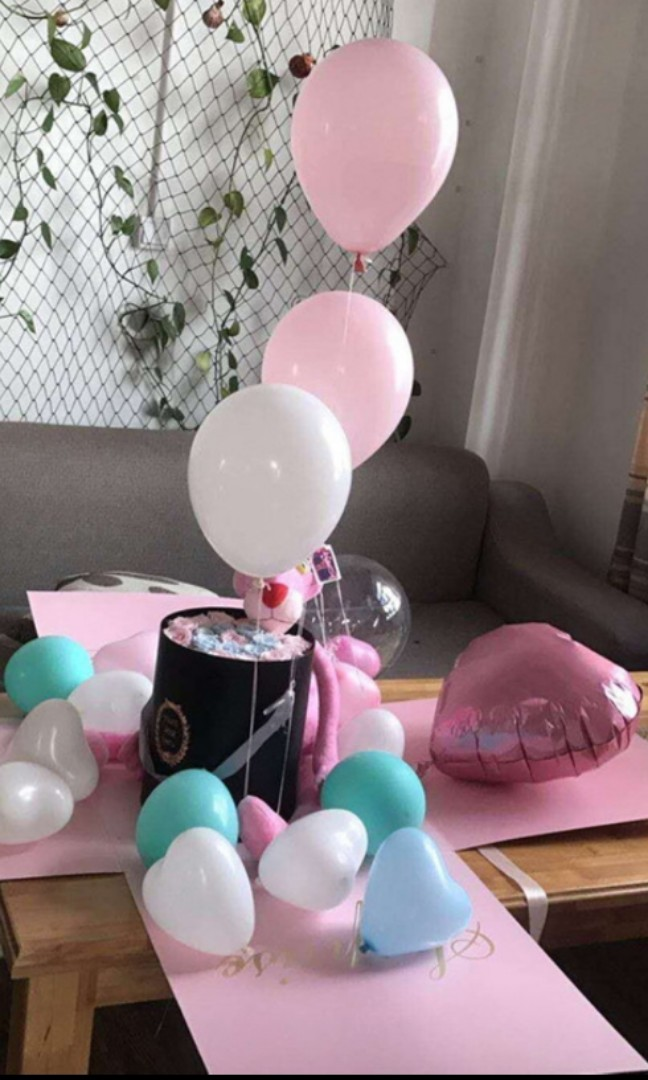 Birthday Surprise Box Gift Set Design Craft Others On Carousell