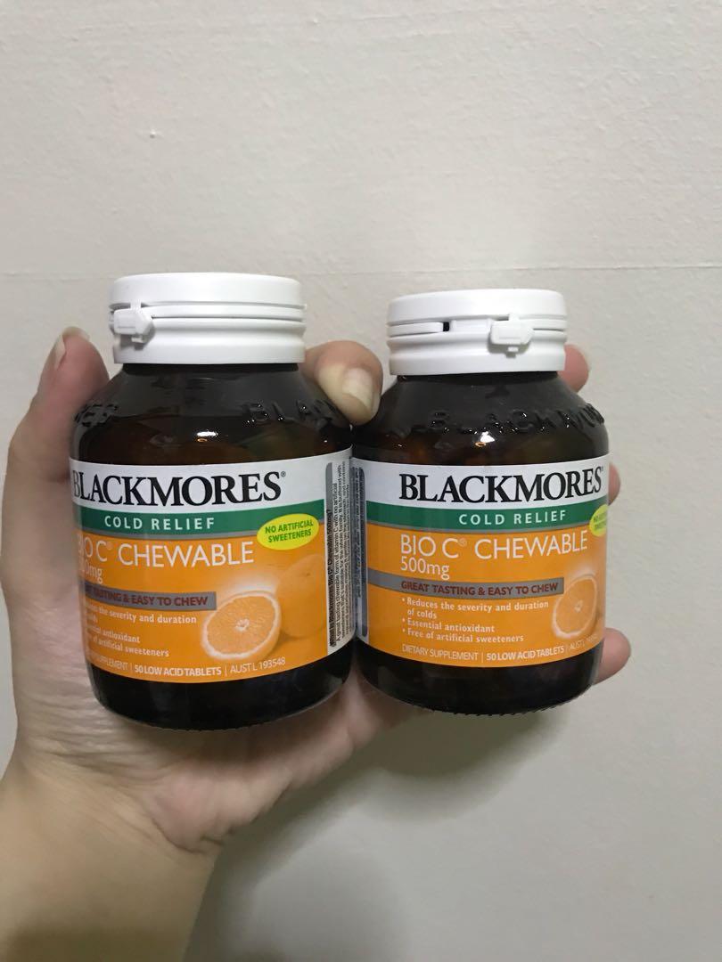 Blackmores Bio C 1000mg Premium Vitamin 62 Tablet Daftar Harga 150 Tablets Chewable 50 Tabs Health Personal Care Source Photo