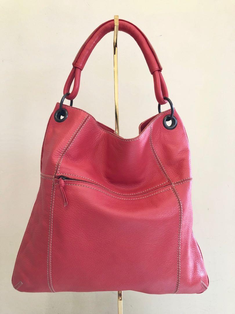 68e6619923 Bottega Veneta Coral Pink Tote Bag