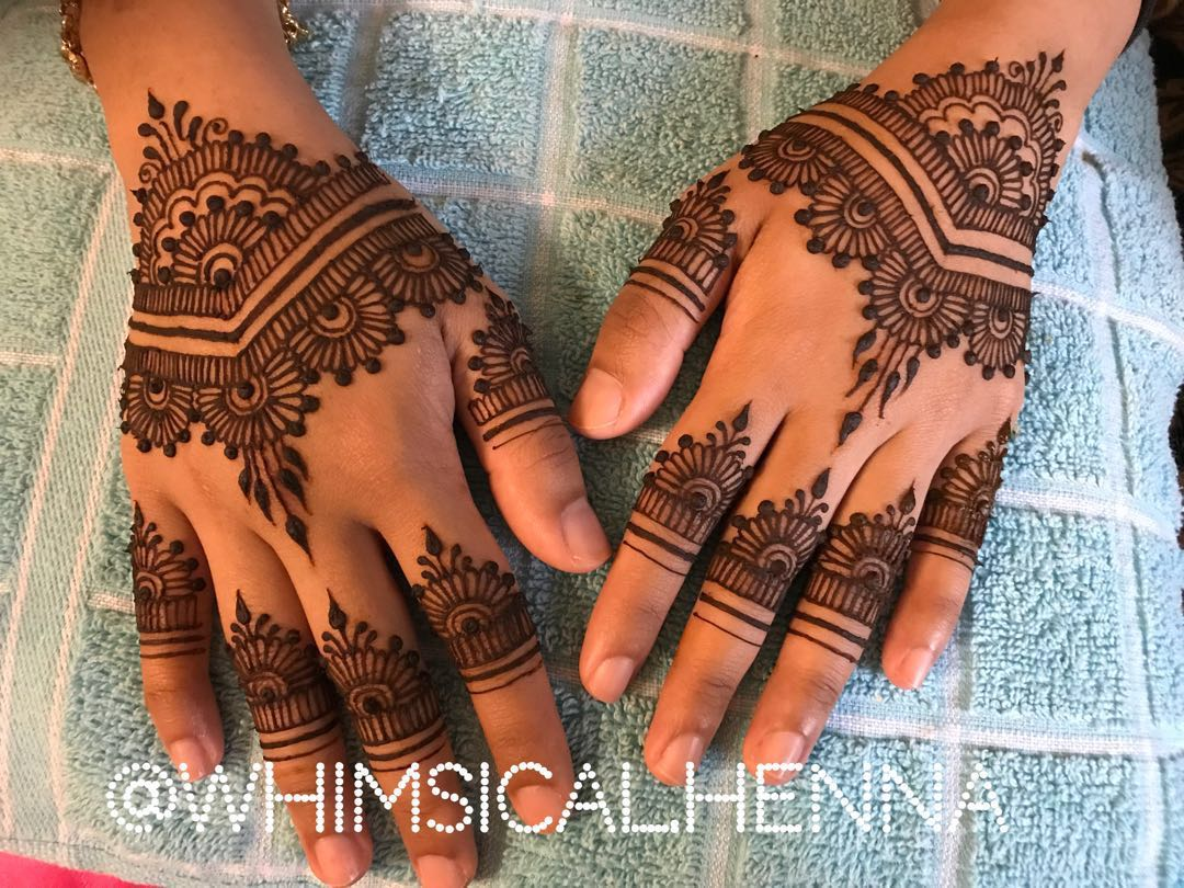 Bridal Henna Simple Everything Else On Carousell