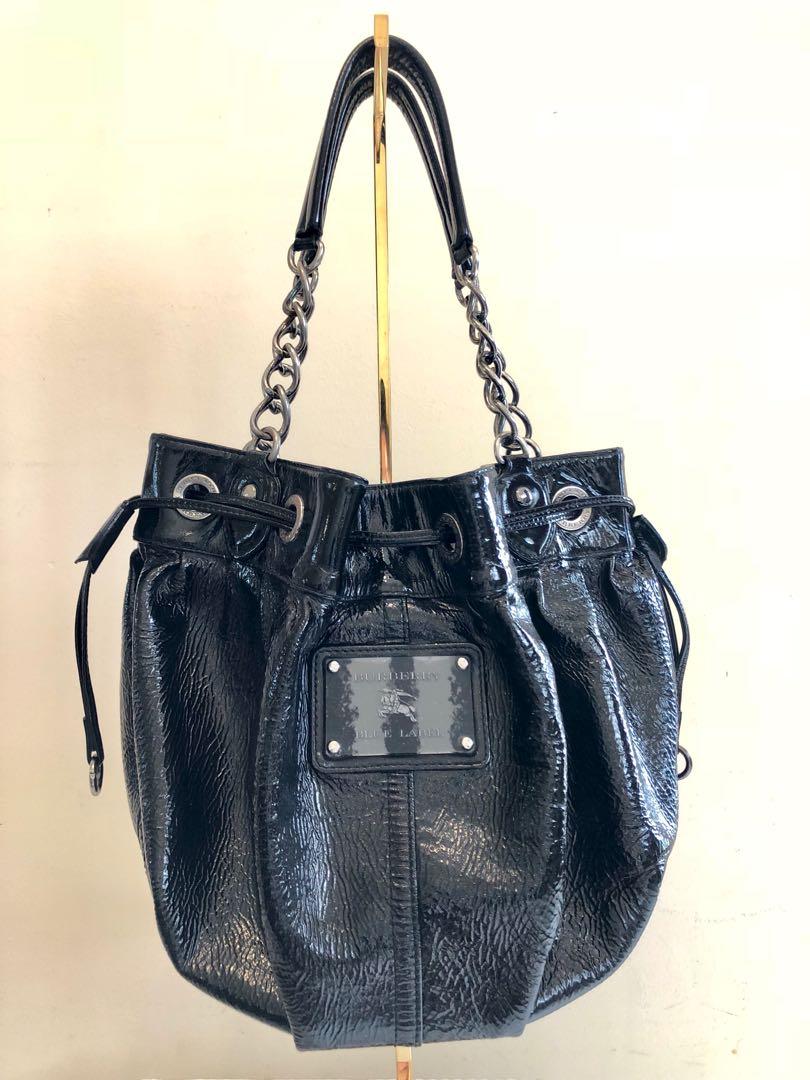 60801b316b6d Burberry Blue Label Bucket Shoulder Bag