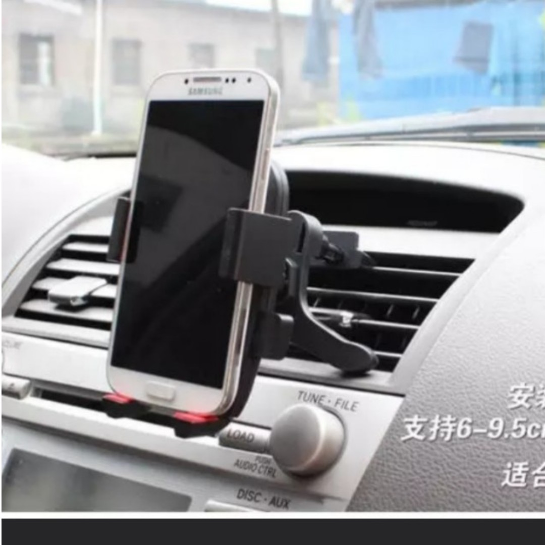 Car Handphone Holder Aircon Hp Holder Aircon Ventilation Holder Extender 2nd Restock From Sold Out