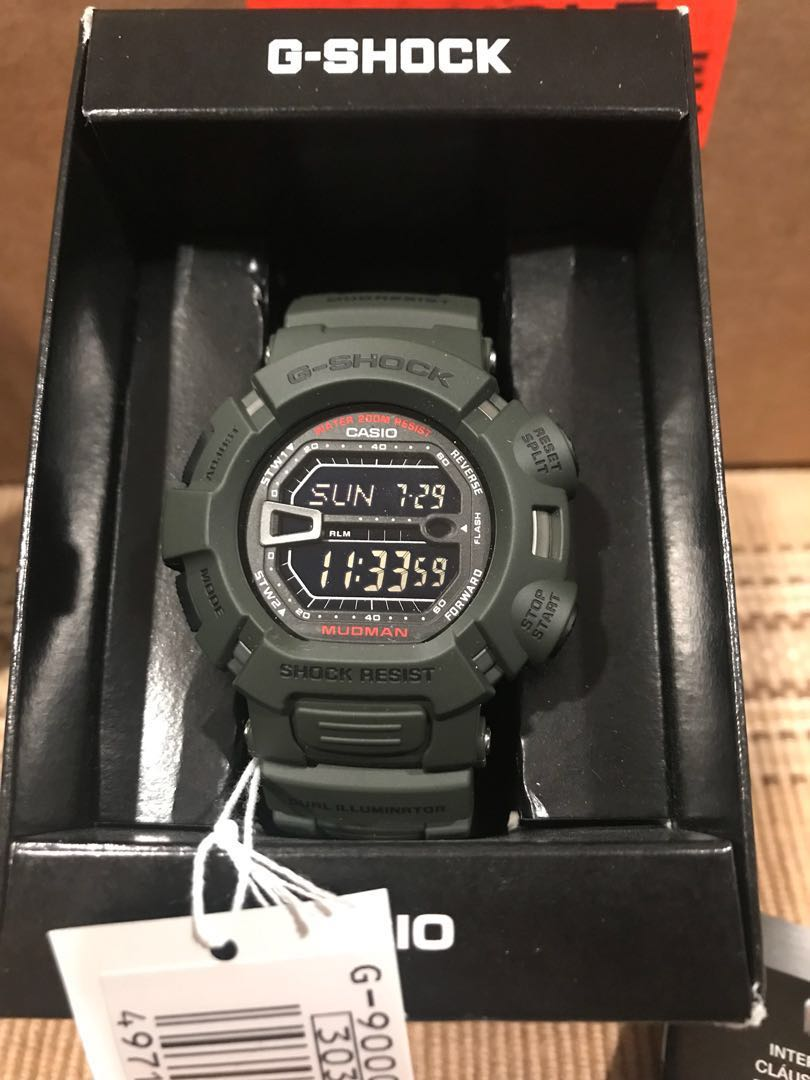 Casio G Shock Mudman G900 3vdr Mens Fashion Watches On Carousell Jam Tangan Gshock Original Gd 400 4dr