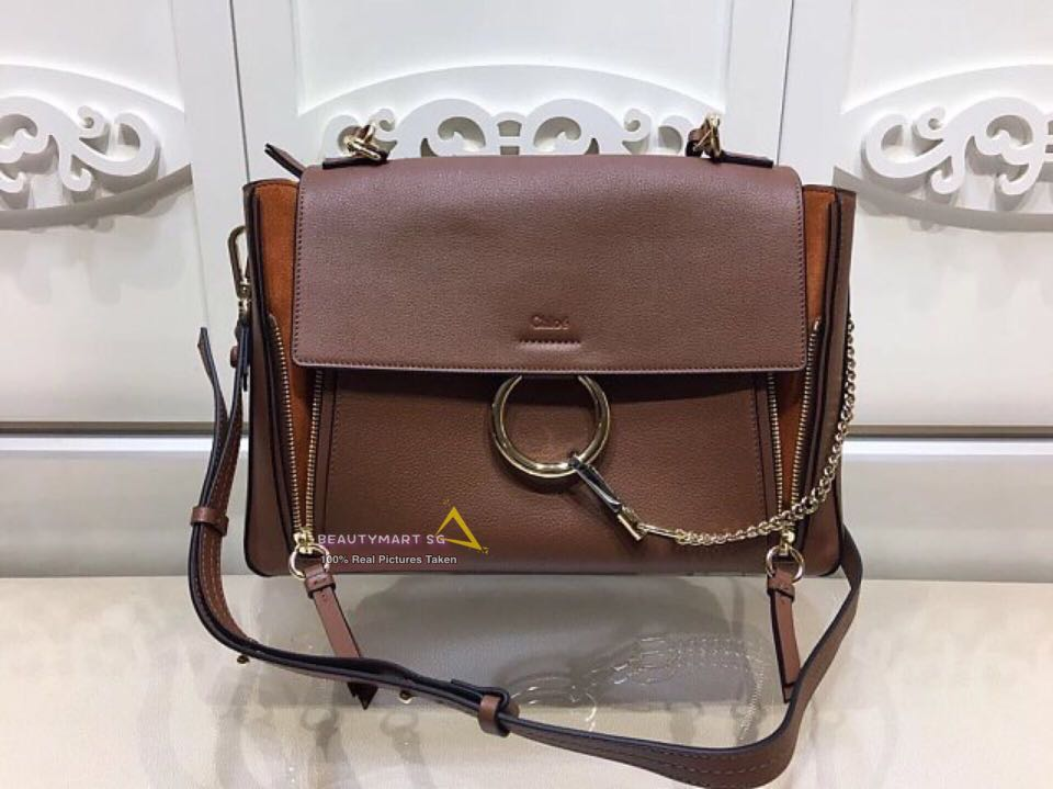 157f05f17 Chloe Faye Day Bag Suede Calfskin Crossbody Sling Shoulder Tote Leather Bag,  Luxury, Bags & Wallets, Handbags on Carousell