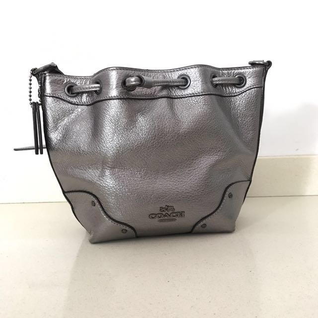 94c1f961ff ... buy coach small bucket bag womens fashion bags wallets on carousell  bdc3c 48dc5