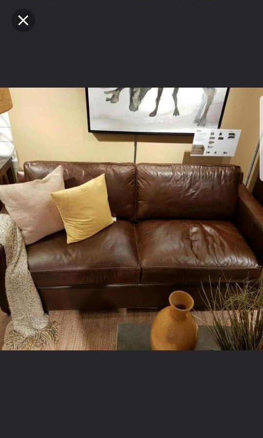Outstanding Crate And Barrel Leather Sofa Gmtry Best Dining Table And Chair Ideas Images Gmtryco