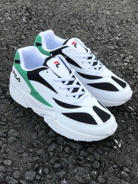 Fila Venom White Green