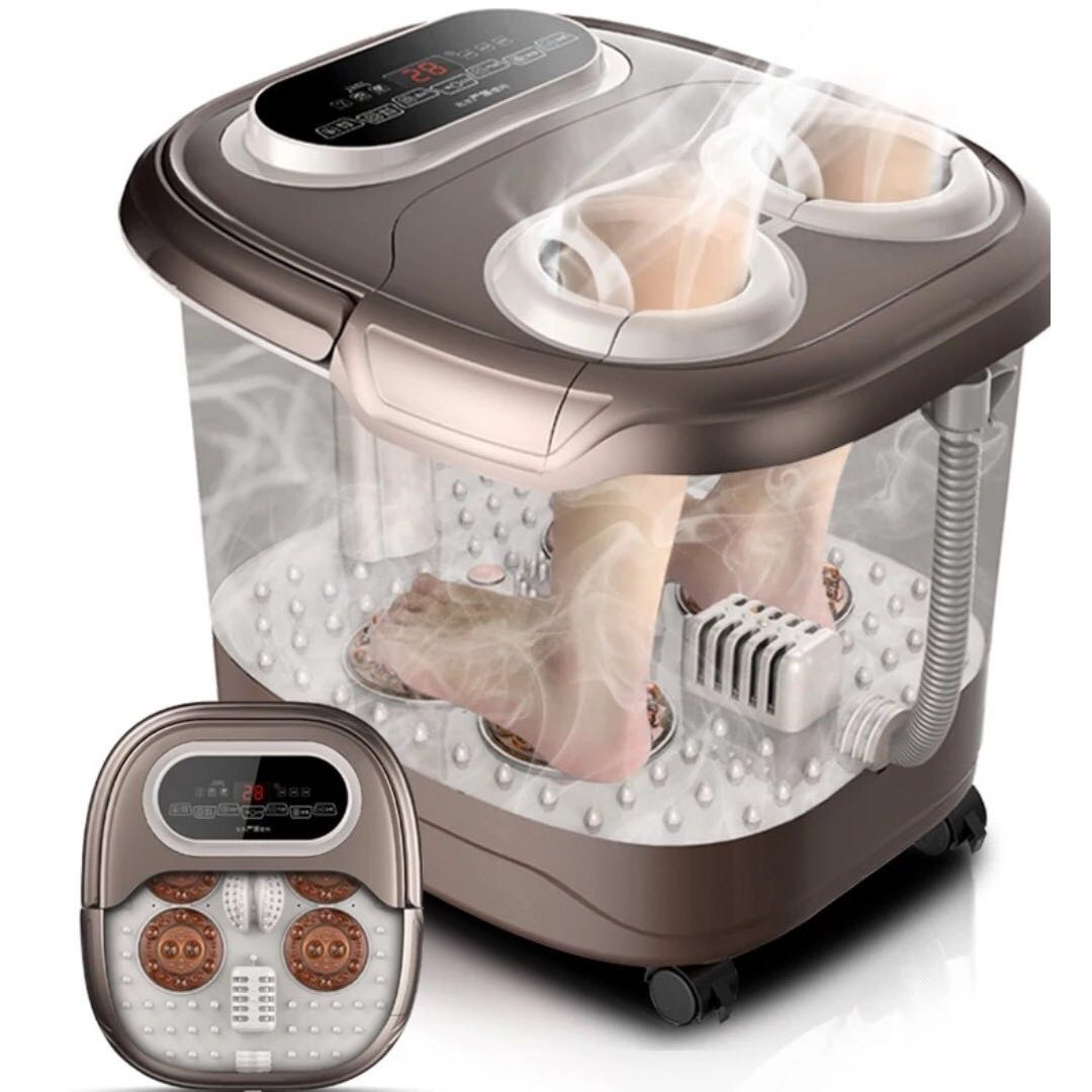 😍Foot Spa Massage😍Foot Jacuzzi Bubble At Home Foot Bath Foot ...