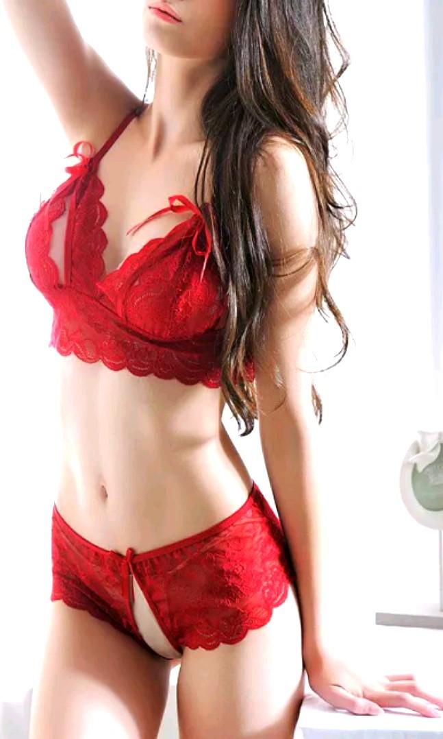 4e18c9b52048 Free NM*Sexy Lingerie Sleepwear Innerwear Bra Underpants Lace ...