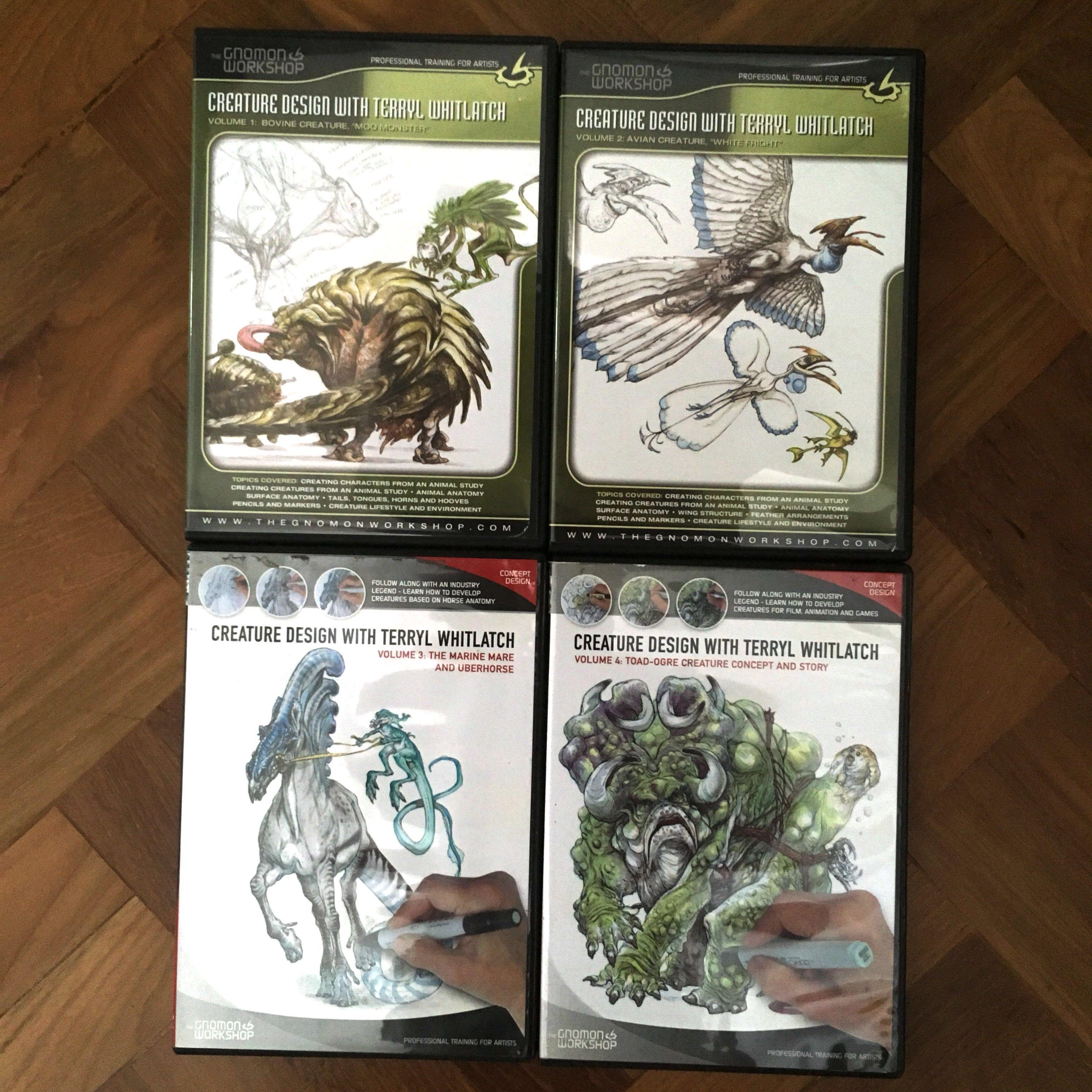 Gnomon Workshop DVDs - Creature Design with Terry's