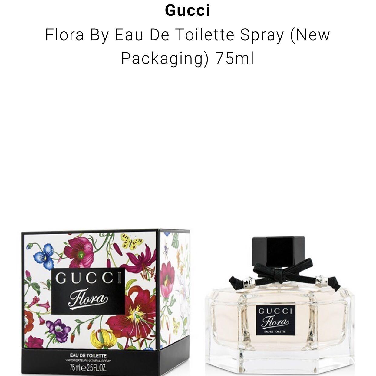 6bc073d73d6 Gucci Flora Eau De Toilette 75ml