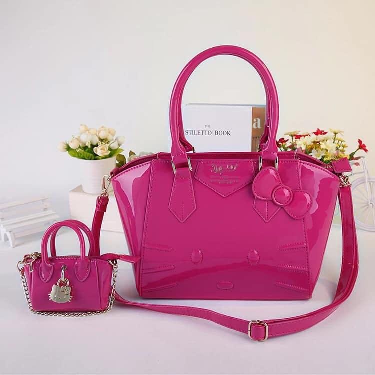 Hello Kitty Hand Bag w  Sling w  Mini Bag 445eba7820a17