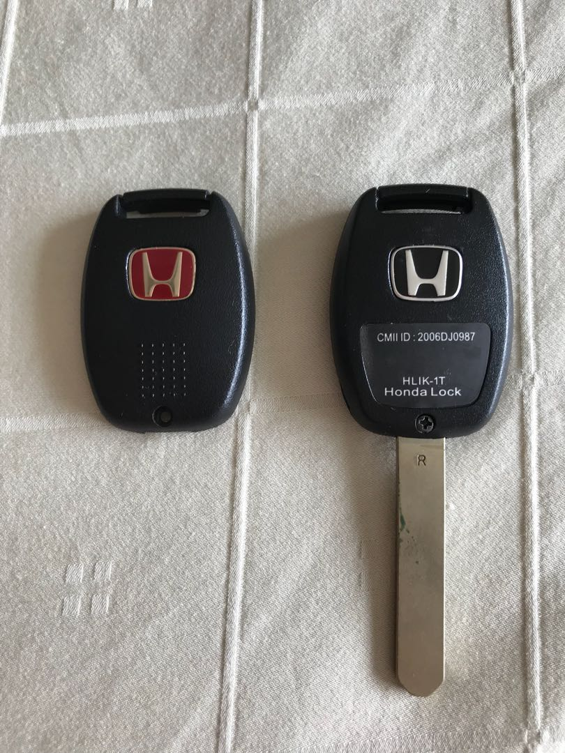 Honda Fd Key Assembly Replacement With Fd2r Red Emblem Car Okuyama Carbing Dash Foot Rest Photo