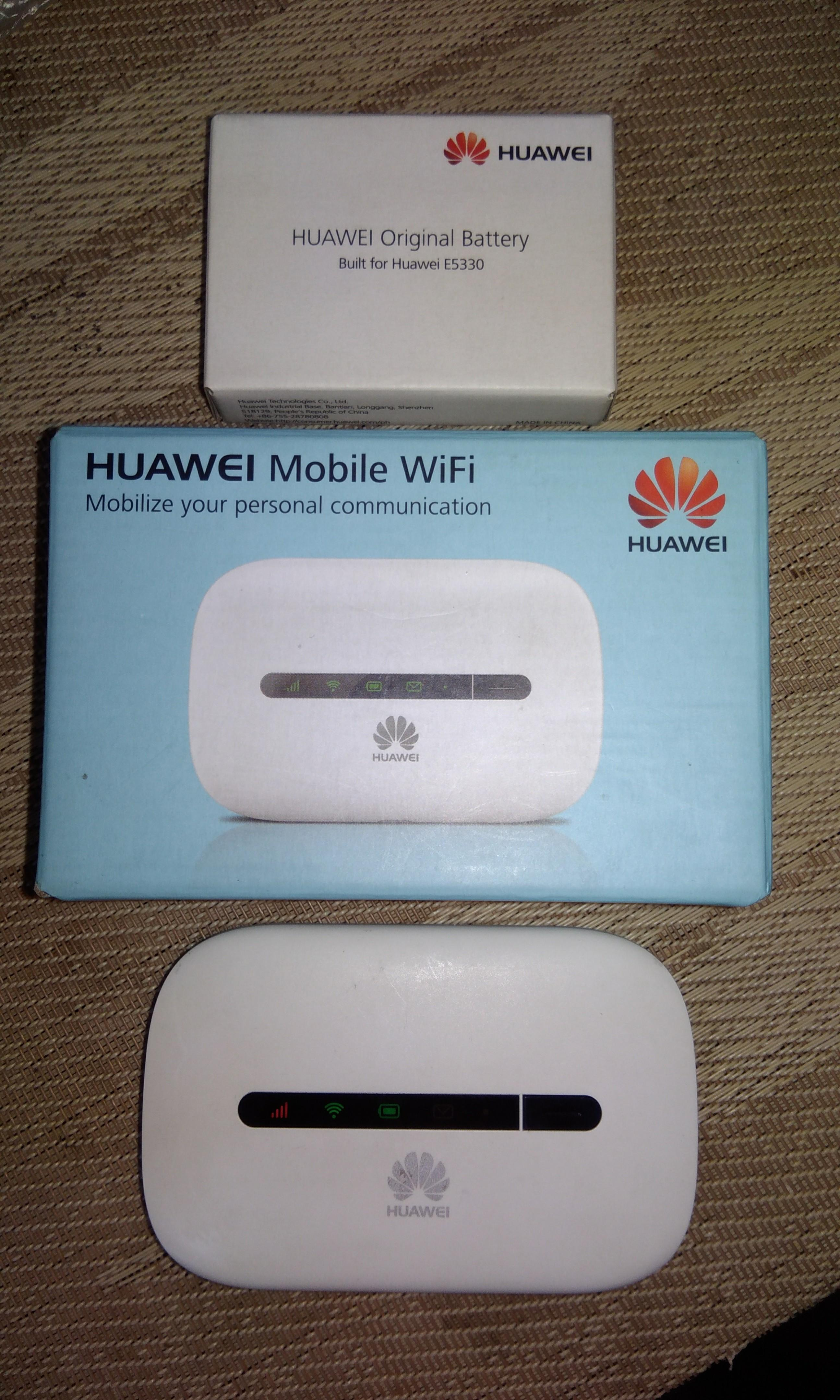 Huawei 3G Pocket Wifi E5330 Model:E5330bs-2 on Carousell