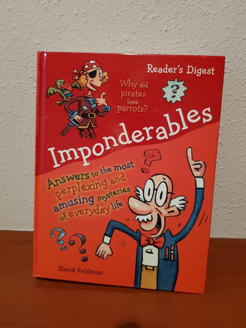 Imponderables Answers to the Most Perplexing and Amusing Mysteries of Everyday Life