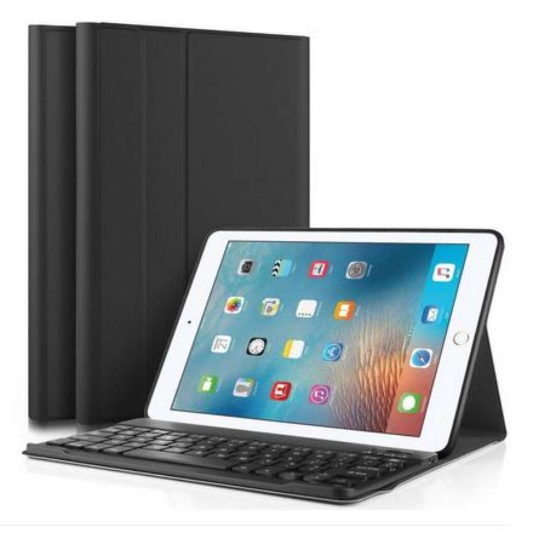 iPad Case -  with Smart Wireless Bluetooth Keyboard for iPad