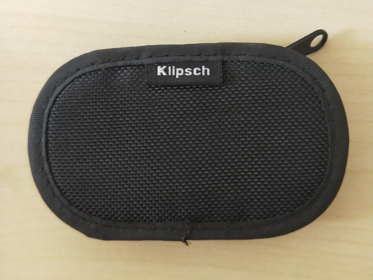Klipsch earpiece pouch