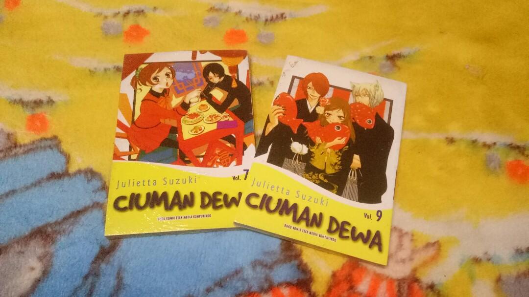 Komik Ciuman Dewa Buku Alat Tulis Komik Dan Manga Di Carousell