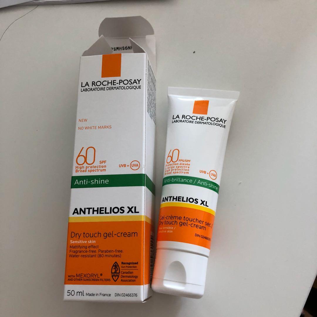 La Roche-Posay matte sunscreen for face (95% left)
