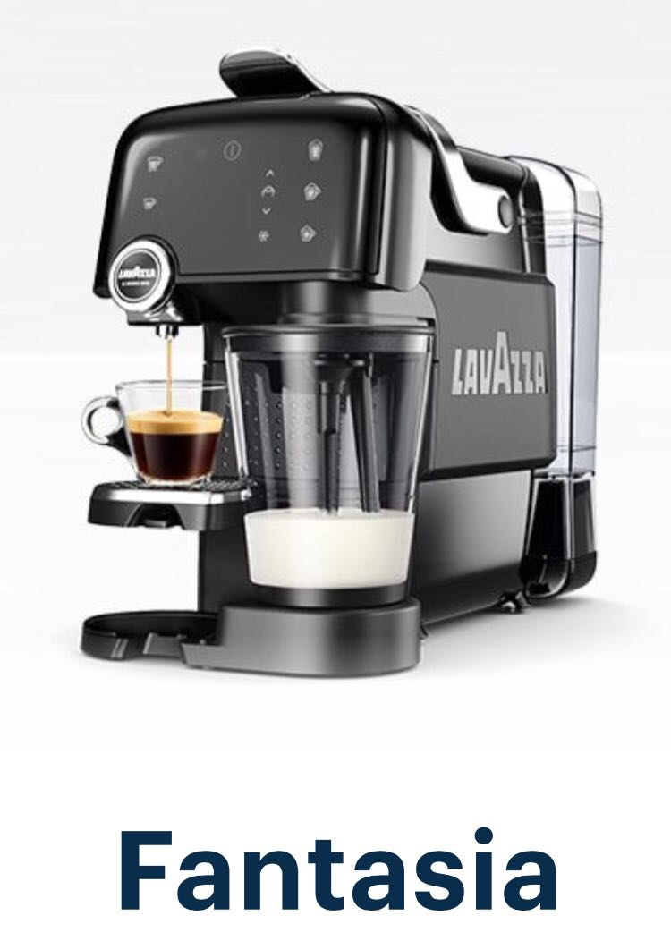 Lavazza Fantasia A Modo Mio Coffee Machine Black Capsules Milk - Lavazza-a-modo-mio-espresso-machine