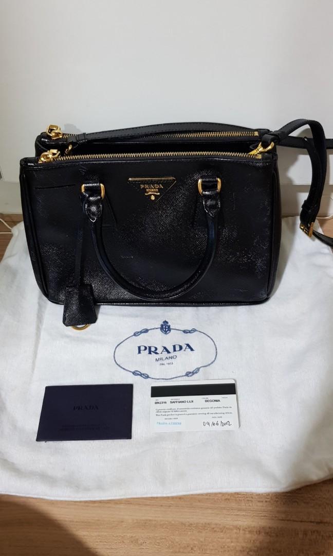 4faceaed062f get prada purple saffiano lux leather mini tote bag bn2316 38868 a2234; usa  prada bn2316 luxury bags wallets handbags on carousell 46192 9c948