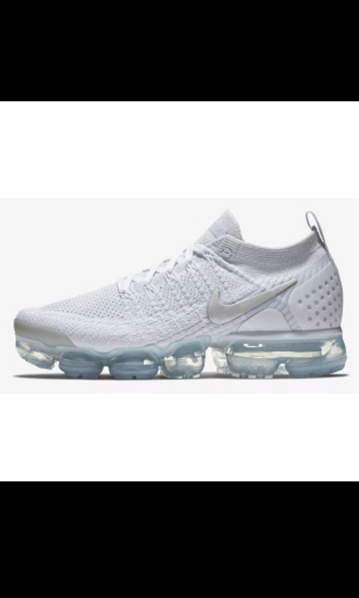 best sneakers 90689 d0e9f Nike Air VaporMax Flyknit 2.0 (White   Pure Platinum), Women s ...