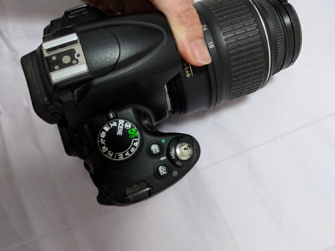 Nikon D5000 Kit Lens Charger Photography Cameras Dslr On Where To Get Parts Diagram For A Slr With Dx Vr Afs Carousell