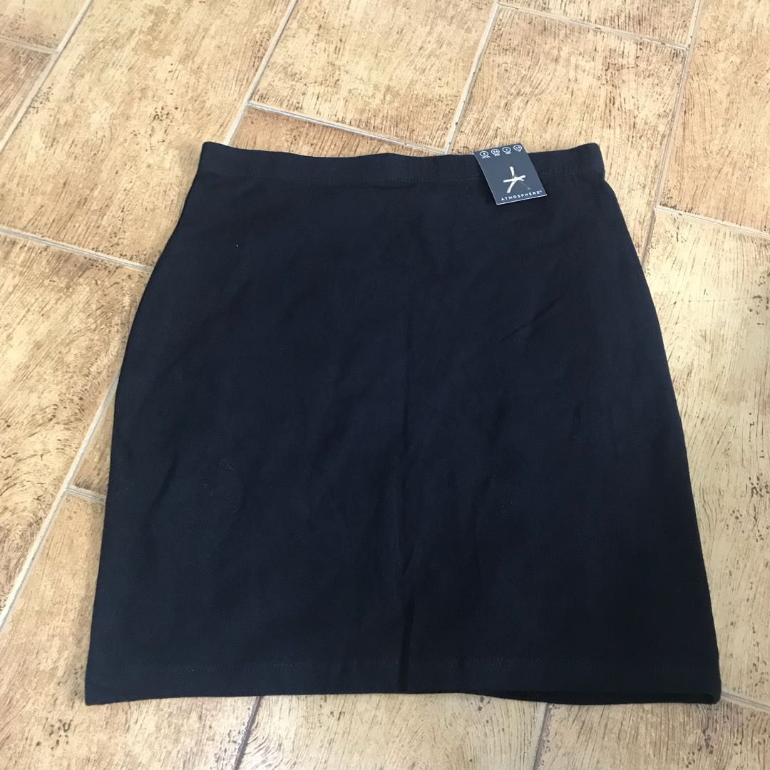 1d1d2ce3f33 NWT Primark   atmosphere black bandage bodycon skirt