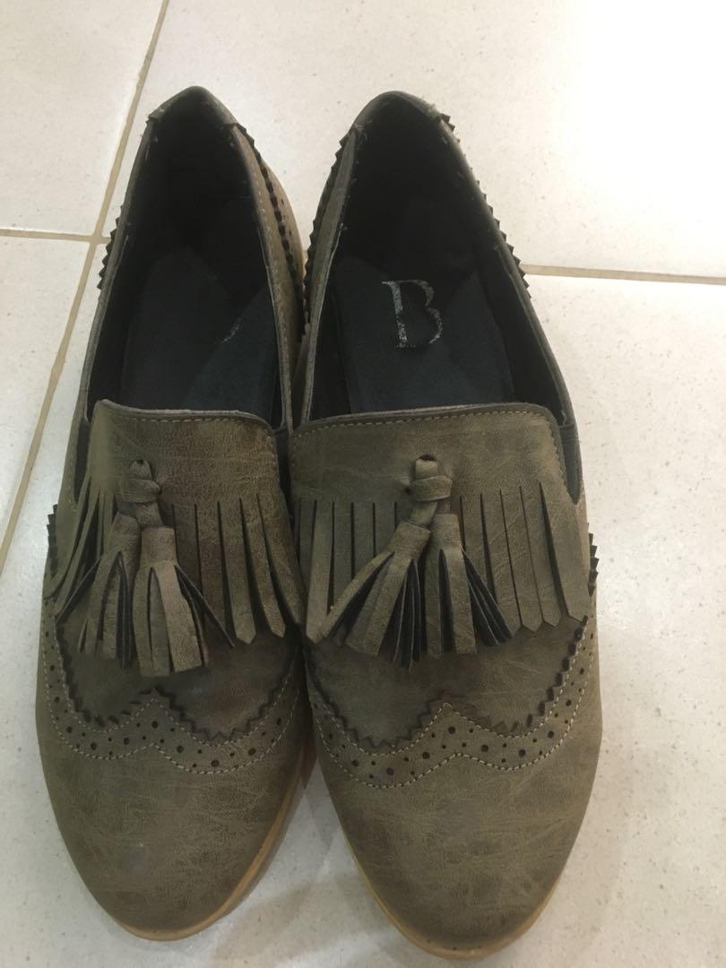 Oxford flat shoes 75def4452b