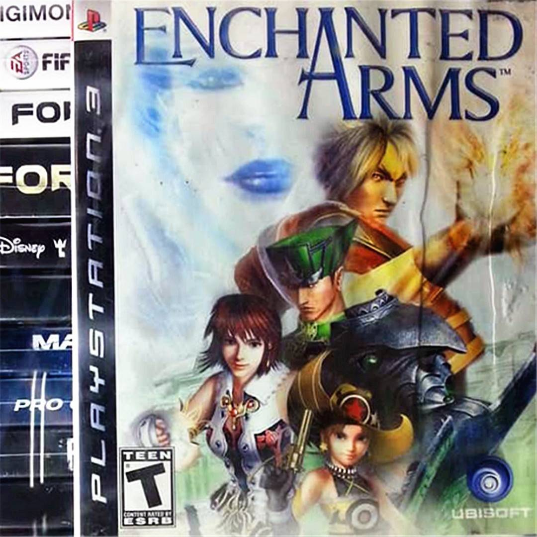 PS3 Enchanted Arms Sony PlayStation Ubisoft RPG Games, Video Gaming, Video Games on ...