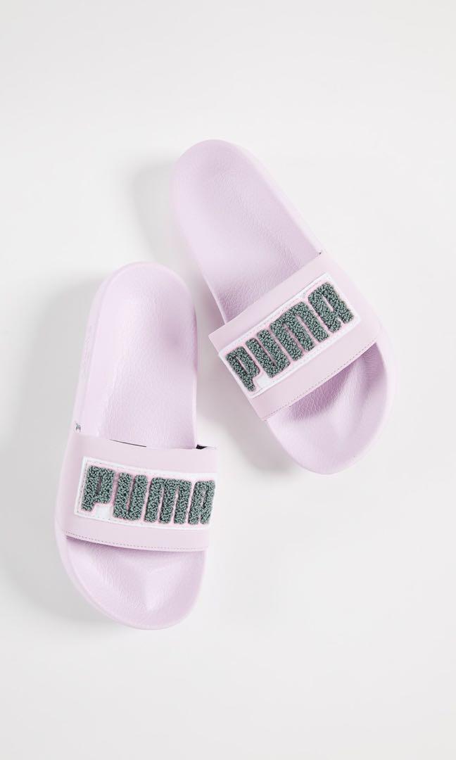 da9864dcbb83 Puma Ladies Light Pink Slides