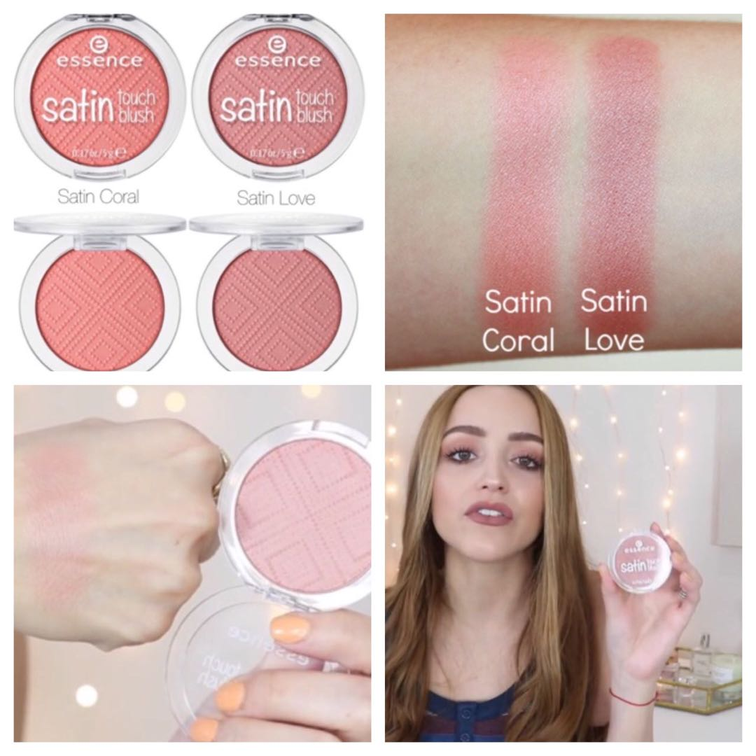 (READY STOCK) ESSENCE MAKEUP - Satin Touch Blush, Health & Beauty, Makeup on Carousell
