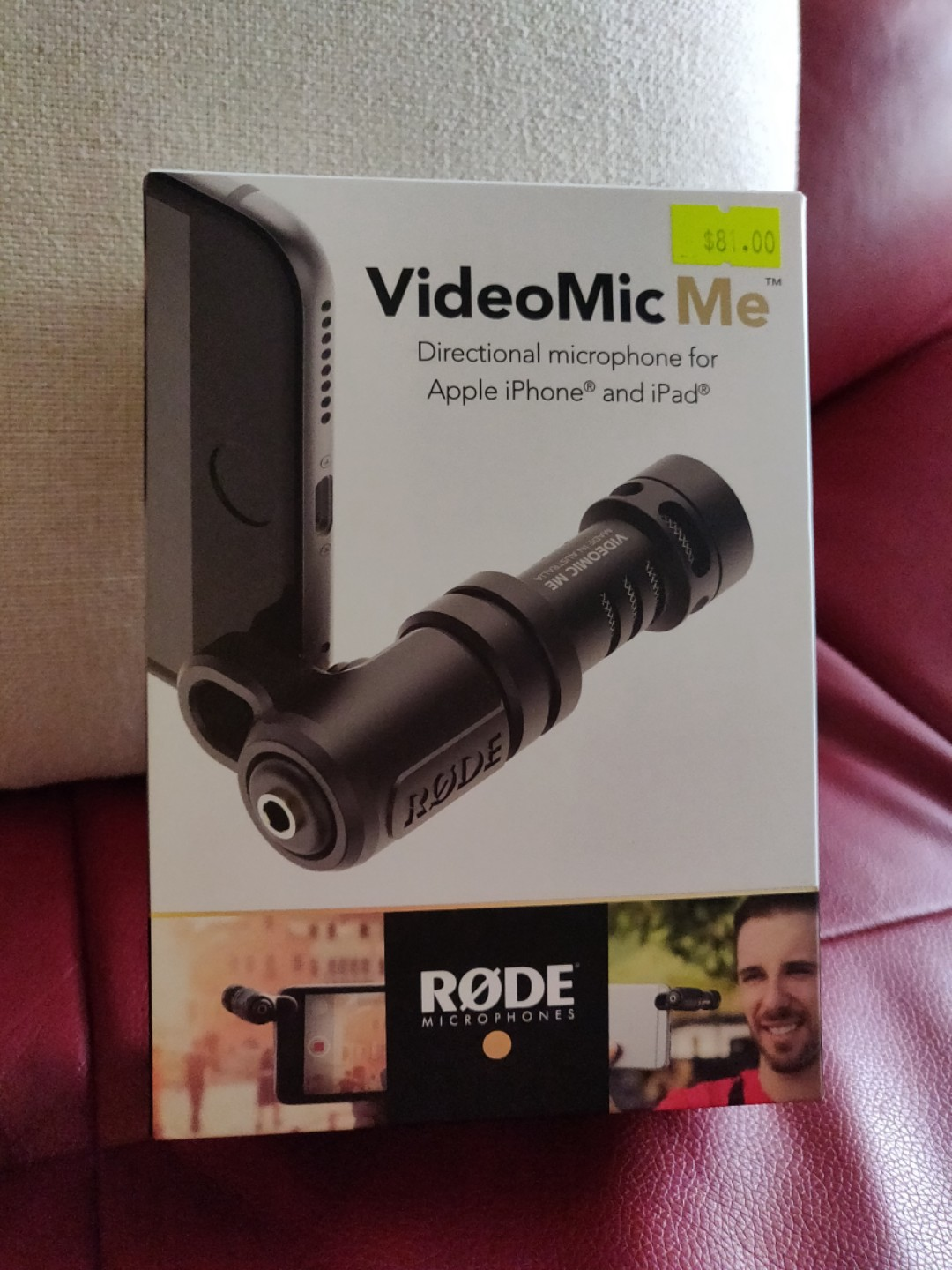 Rode Videomic Me Pro Photography Video Equipment On Carousell