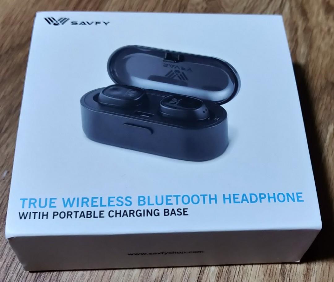 80e1b2eaa96 SAVFY True Wireless Bluetooth Earbud, Twins Mini Wireless Bluetooth ...