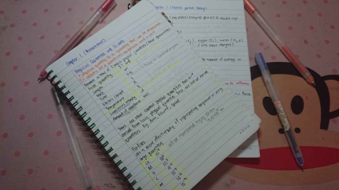 Science Notes For GCE O Level And N Level Physics