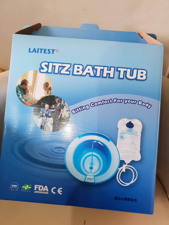 Sitz Bath Tub, Assistive Devices, Rehabilitative Devices on Carousell