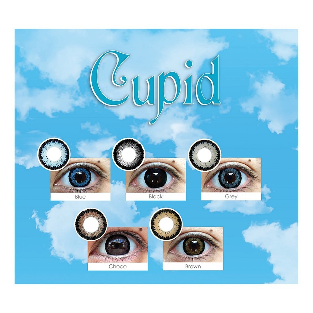 ... Contact Lens KEMENKES Brown Source Softlens Cupid