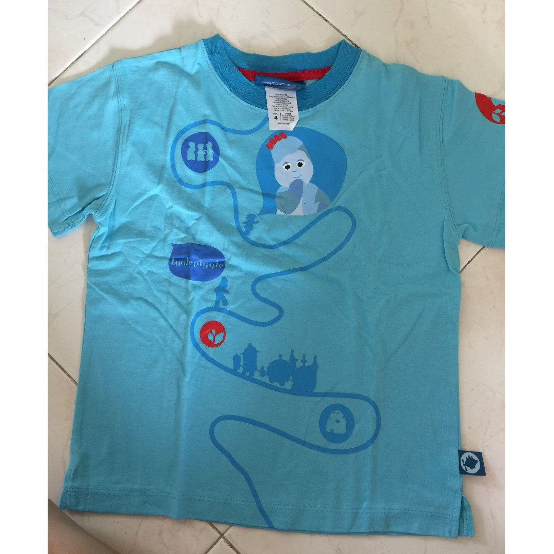 f0d1d5980 Teletubbies - in the night garden T shirt (3-5 years old)