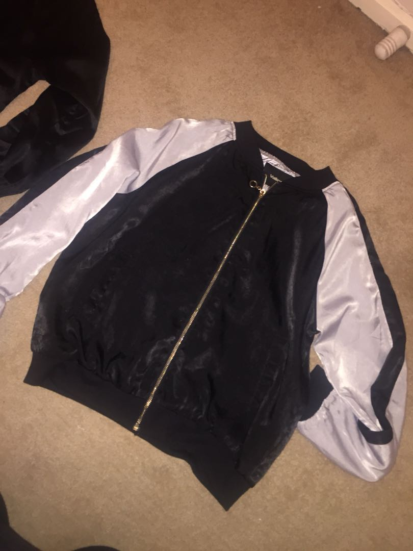THIN BOMBER JACKET
