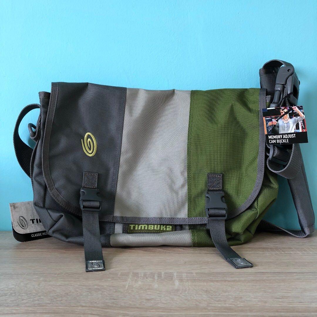 0c06aa11c9 Timbuk2 Classic Messenger Bag (Gunmetal Olive Green)