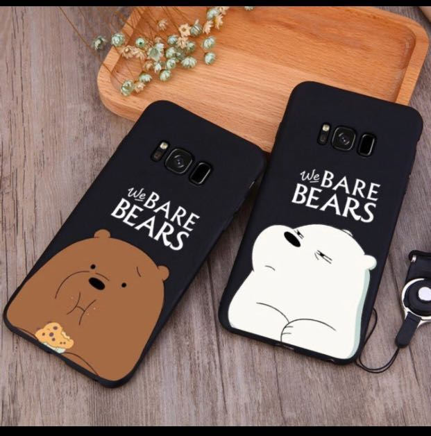 new product 0d22d dd31e We Bare Bears Phone Casing