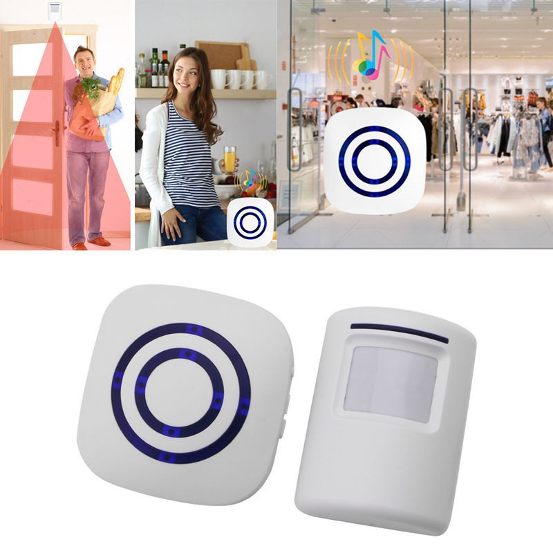 Wireless Motion Sensor Detector Gate Entry Door Bell Welcome Chime