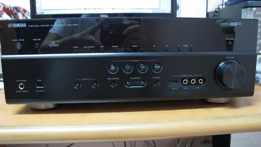 Yamaha RX-671 AV Receiver/ Amplifier, Electronics, Audio on