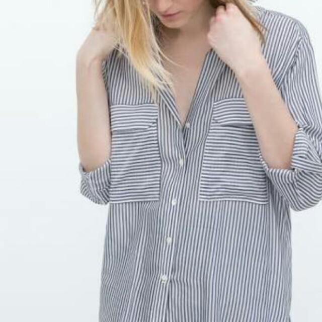 Zara stripes saku