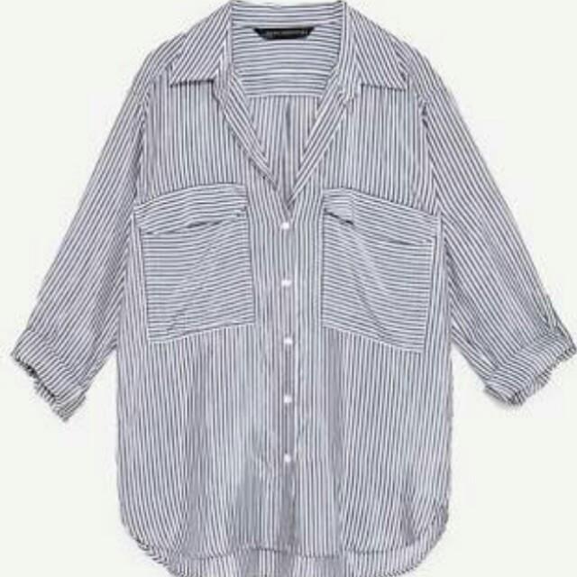 Zara stripes saku